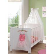 babyledikantje uit de babymeubelserie »trend«, wit wit