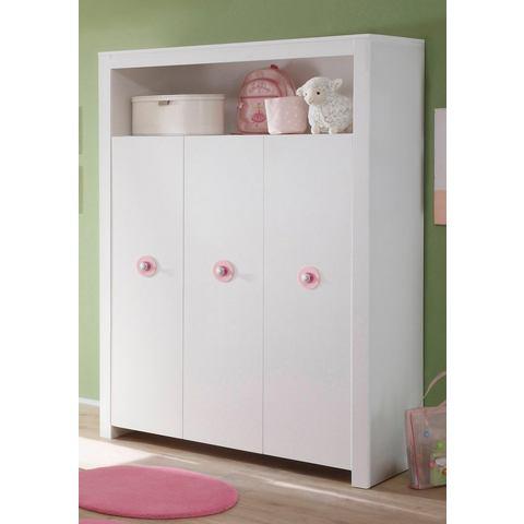 Garderobekast passend bij meubelserie Trend, wit