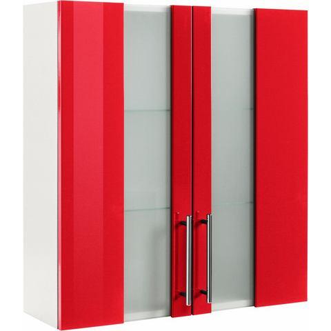 KESPER Hangend kastje Visby met breedte 65 cm rode badkamerkast 102