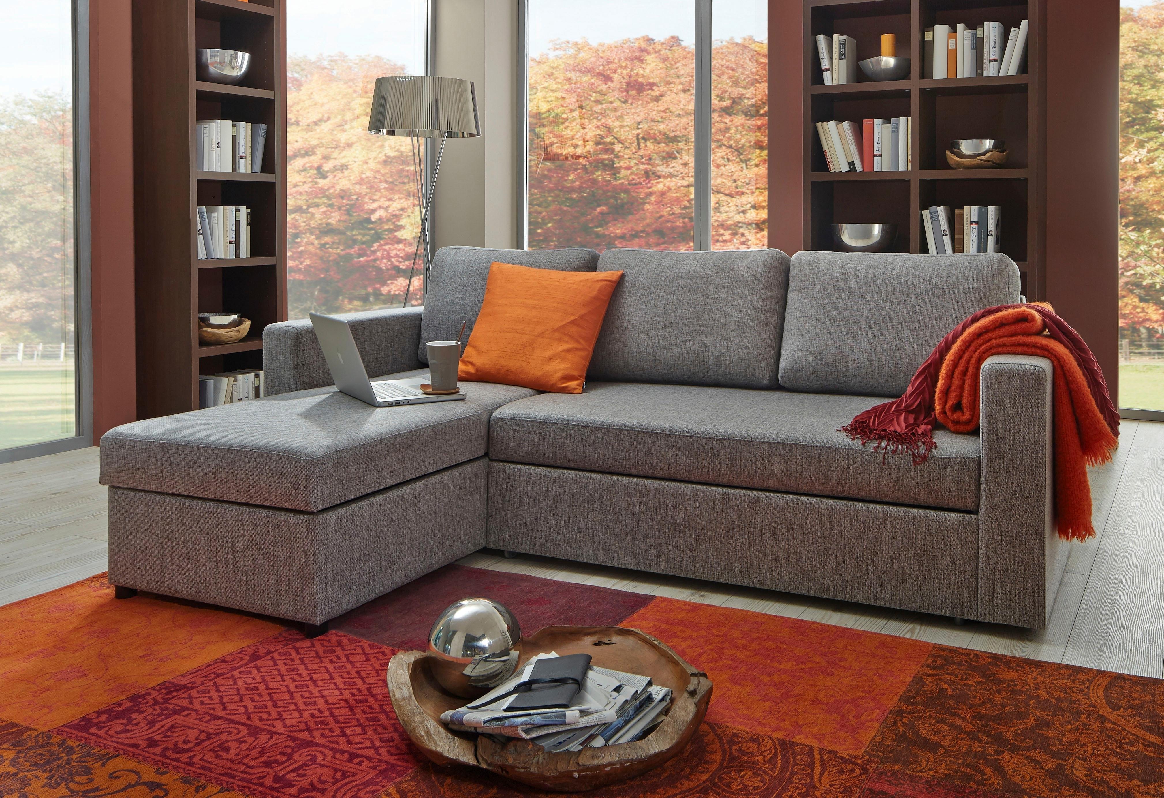 ATLANTIC home collection hoekbank met slaapfunctie online kopen op otto.nl