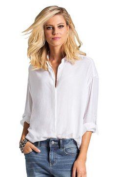 ambria blouse in aangename crêpekwaliteit wit