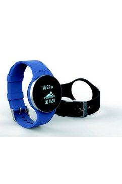 ihealth activity-tracker »wave am4 water-resistant activity meter watch« blauw