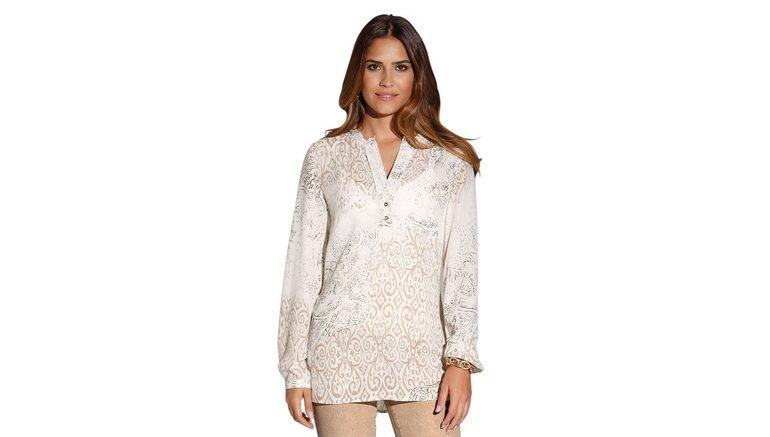 cr ation l blouse met knoopsluiting online shop otto. Black Bedroom Furniture Sets. Home Design Ideas