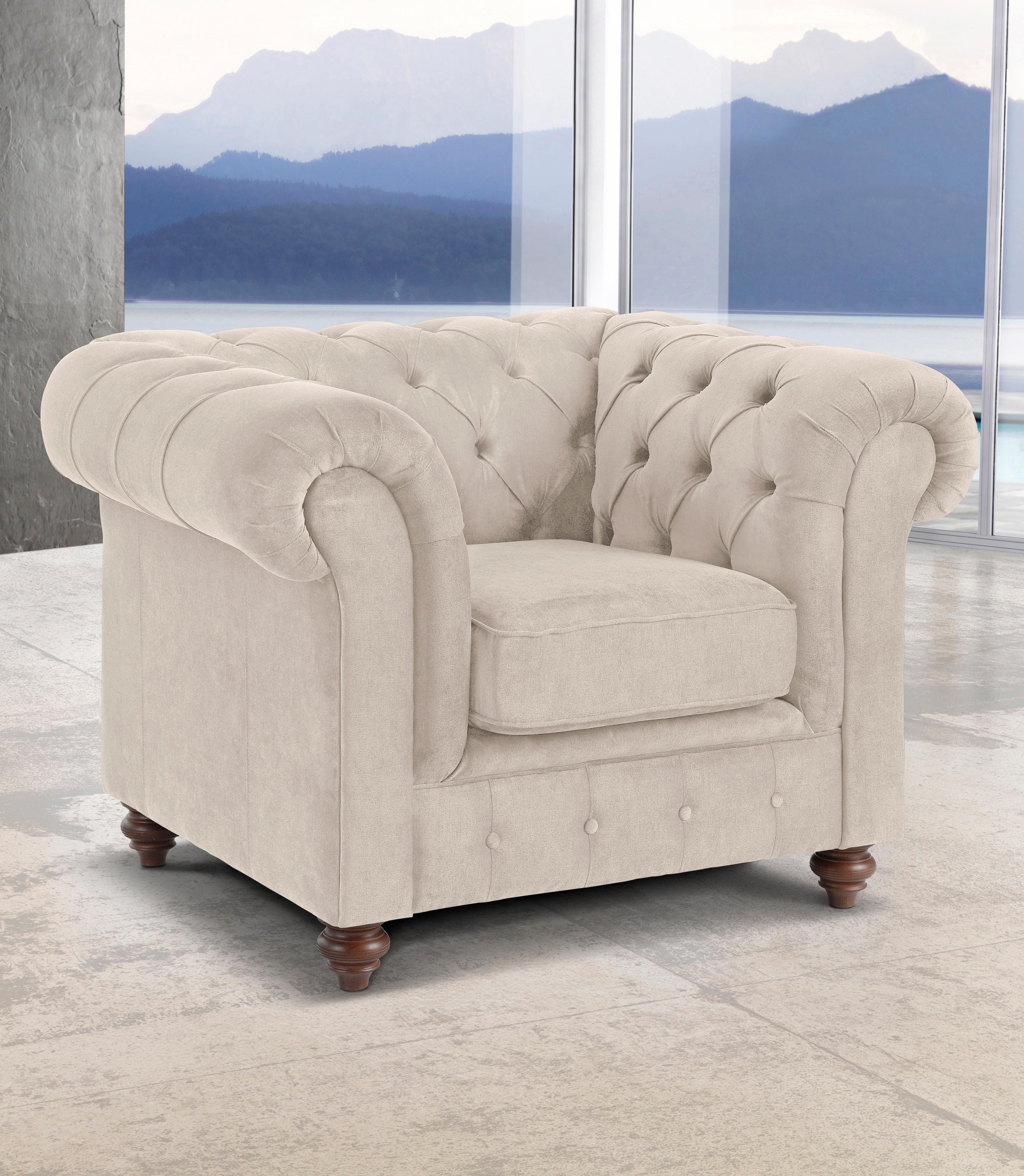 Premium Collection By Home Affaire fauteuil »Chesterfield« nu online bestellen