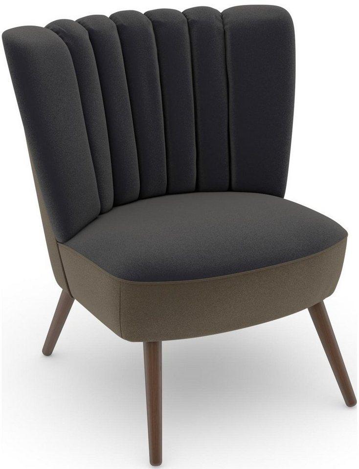 MAX WINZER® build-a-chair fauteuil Aspen in retro-look, om zelf te stylen