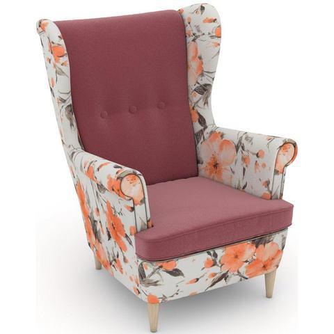 MAX WINZER® build-a-chair oorfauteuil »Casimir« in Winchester-look, om zelf te stylen