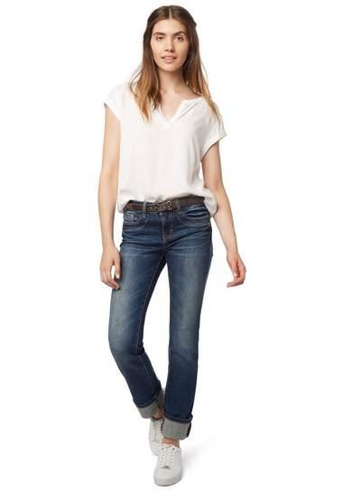 TOM TAILOR Jeans »jeans met riem«