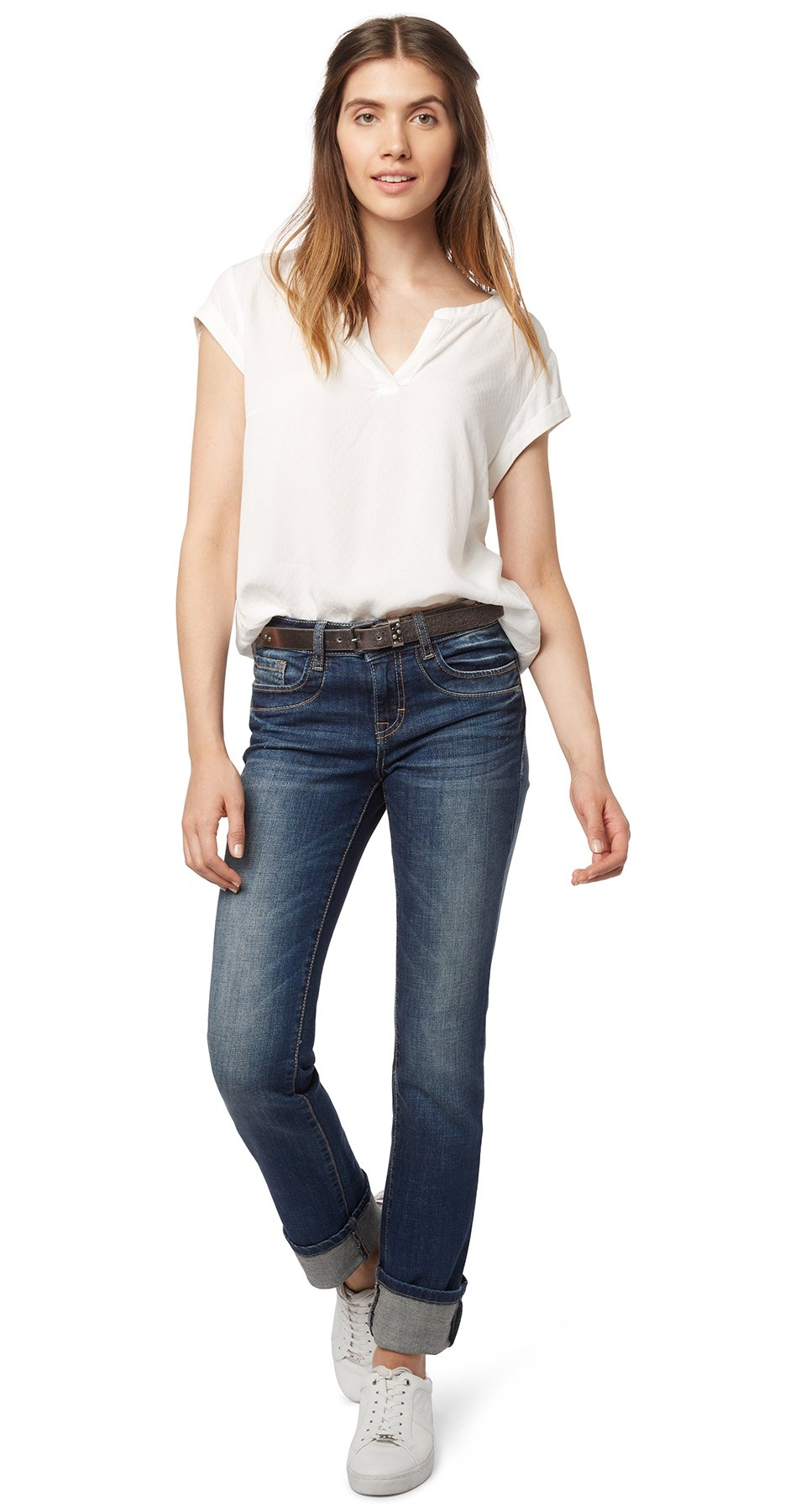 TOM TAILOR Jeans »jeans met riem« bestellen: 14 dagen bedenktijd