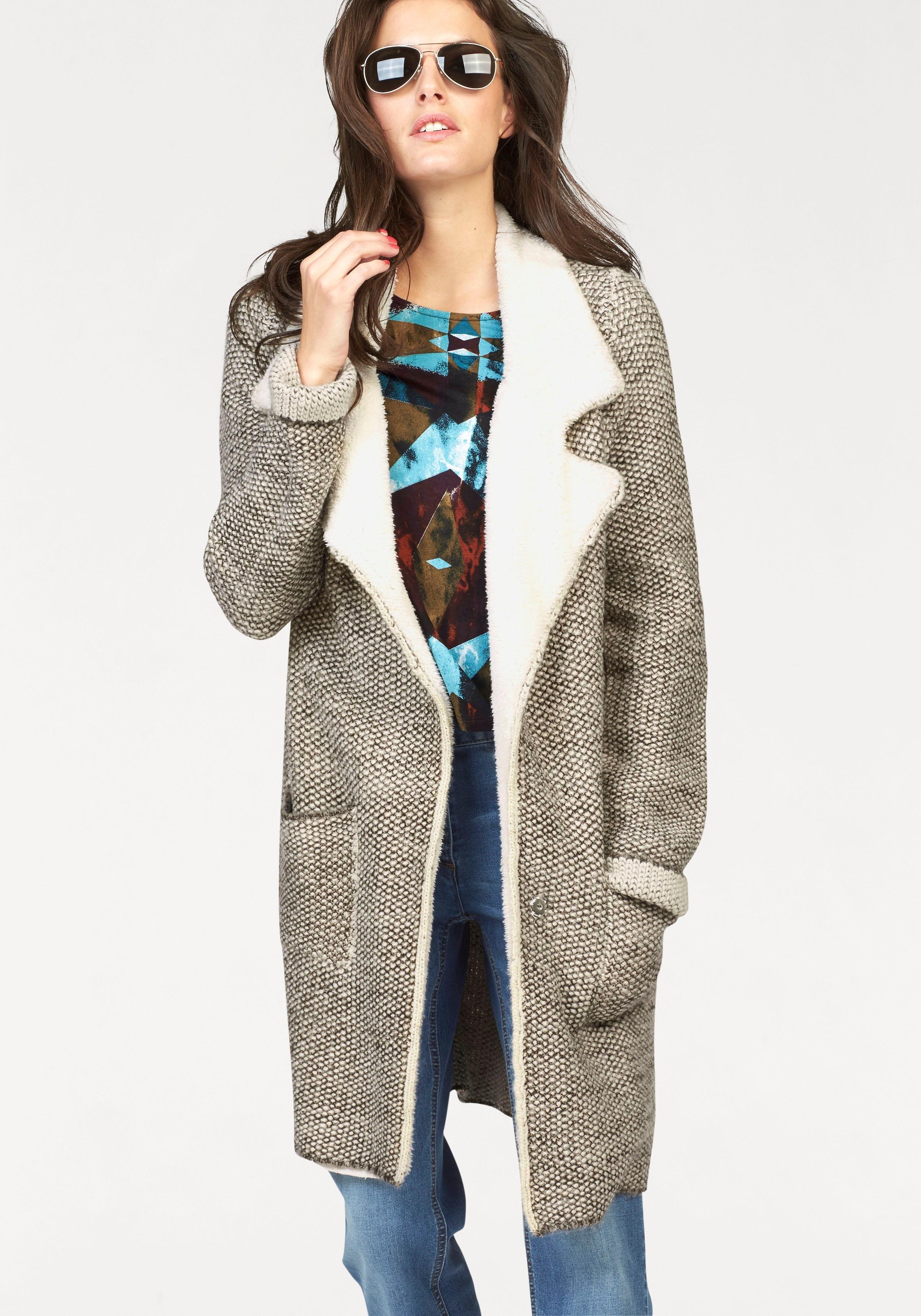 Aniston CASUAL gebreide jas met reverskraag bestellen: 30 dagen bedenktijd