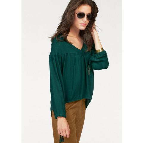 ANISTON blouse in lang model