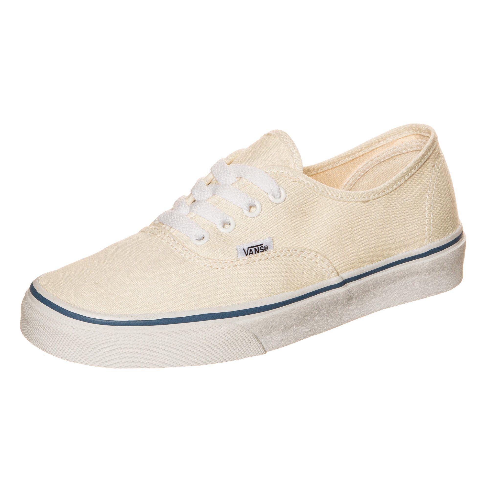 vans sneaker authentic beige