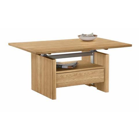 Premium collection by HOME AFFAIRE salontafel Hamilton, in hoogte verstelbaar met plank