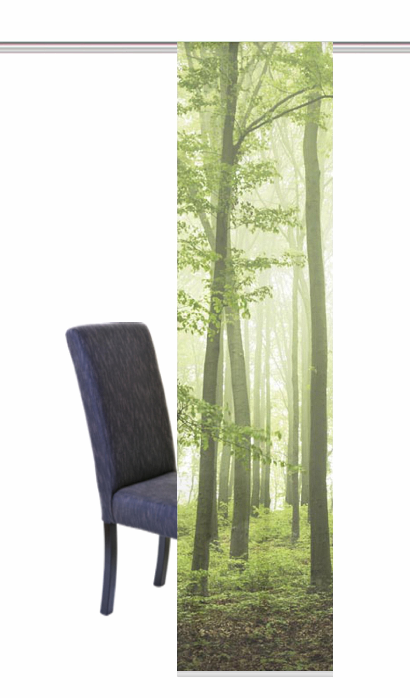 Paneelgordijn home wohnideen nebelwald« per stuk met
