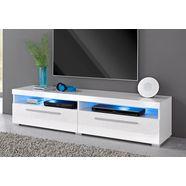 tv-meubel, breedte 140 cm wit