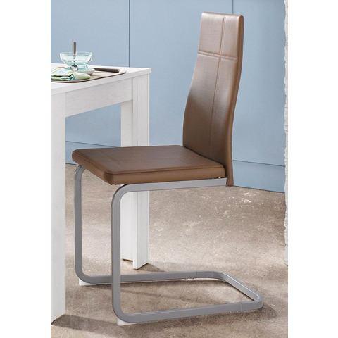 Eetkamerstoelen Steinhoff vrijdragende stoel in set van 2 of 4 414321