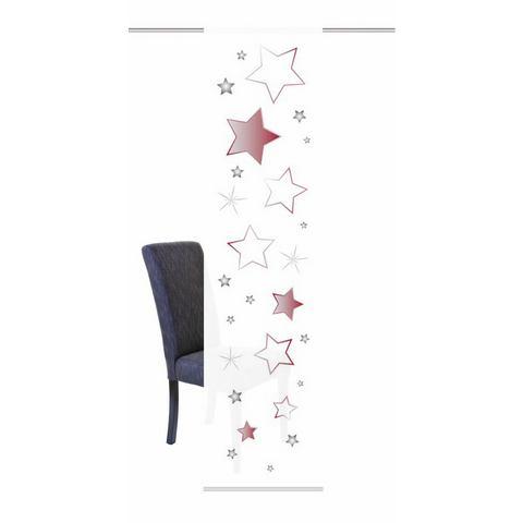 Paneelgordijn, HOME WOHNIDEEN, »STARS« (per stuk met accessoires)