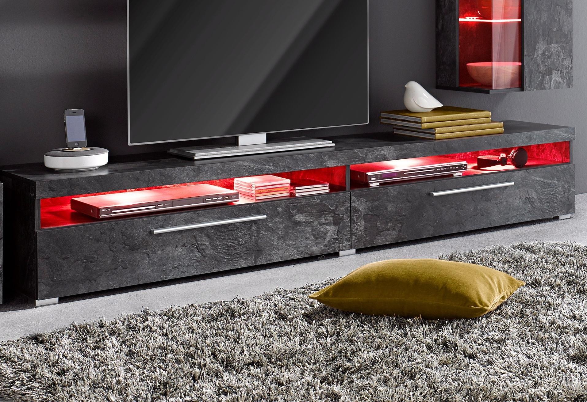 TRENDMANUFAKTUR tv-meubel India Breedte 200 cm veilig op otto.nl kopen