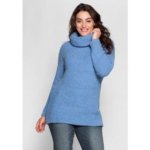 NU 15% KORTING: SHEEGO CASUAL heerlijk zachte trui van chenille