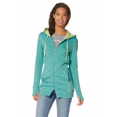 KANGAROOS Sweatshirt met contrastpaspels