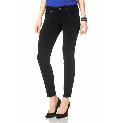 LAURA SCOTT Five-pocketsjeans in used-look