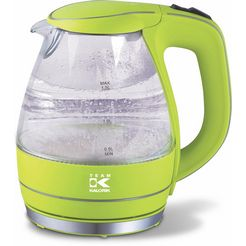 tkg glazen design-waterkoker jk1022ag groen