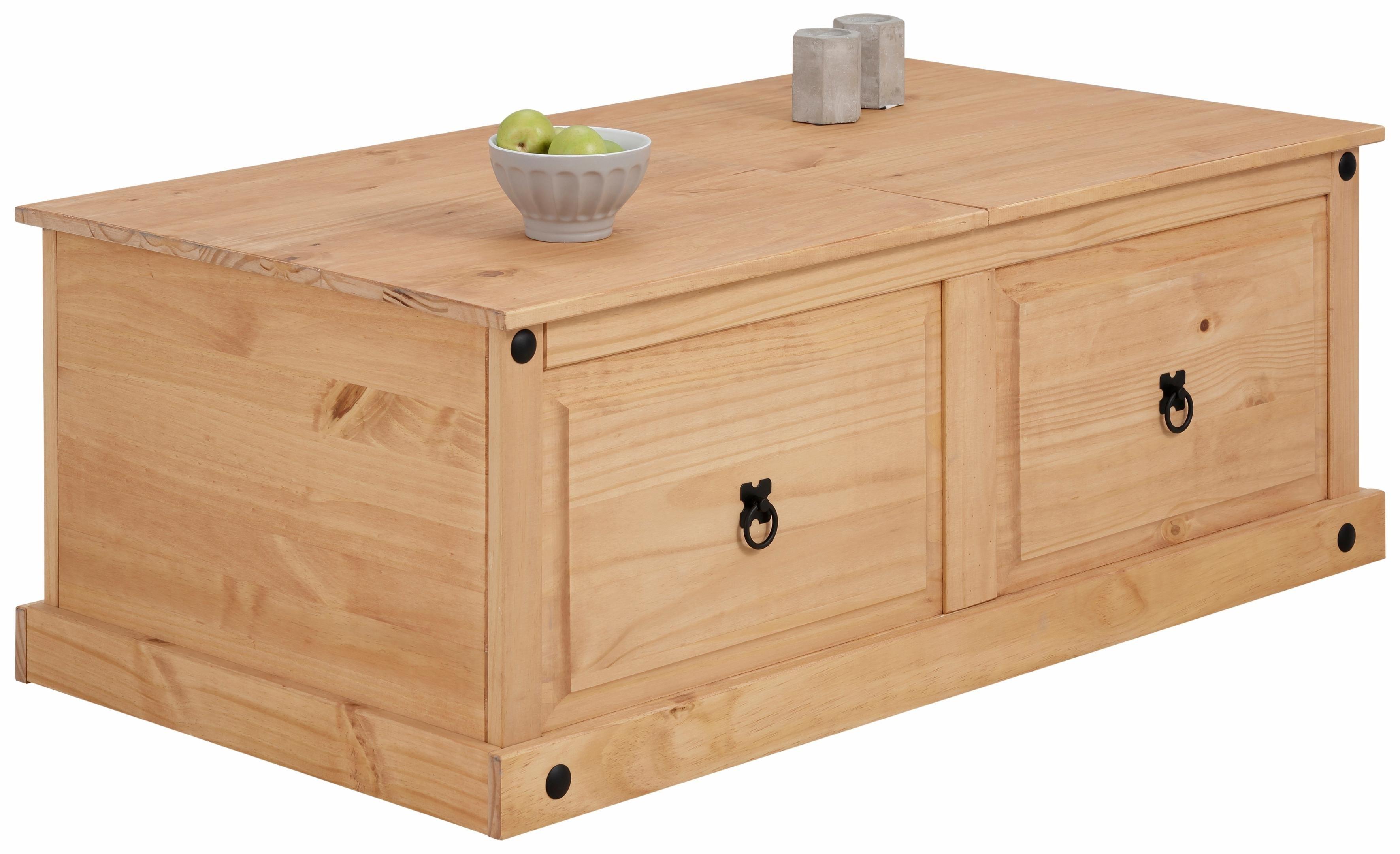Home Affaire Salontafel van massief grenenhout - gratis ruilen op otto.nl