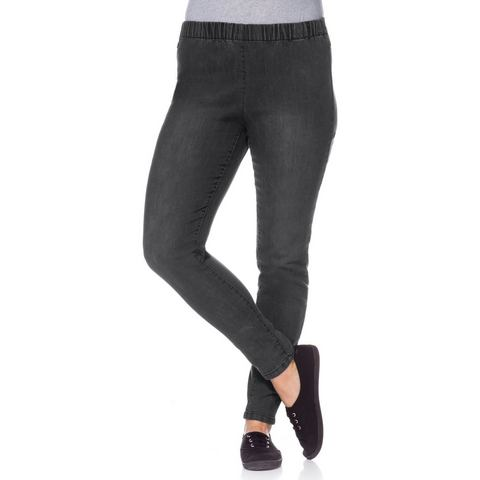 SHEEGO DENIM Jeans-legging met elastische band