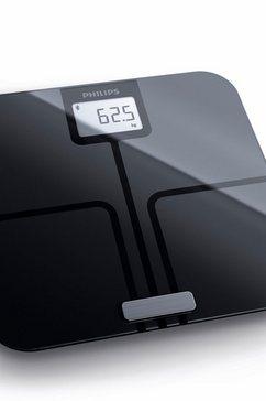 lichaamsanalyse-weegschaal DL8780/01, met app-aansluiting, zwart