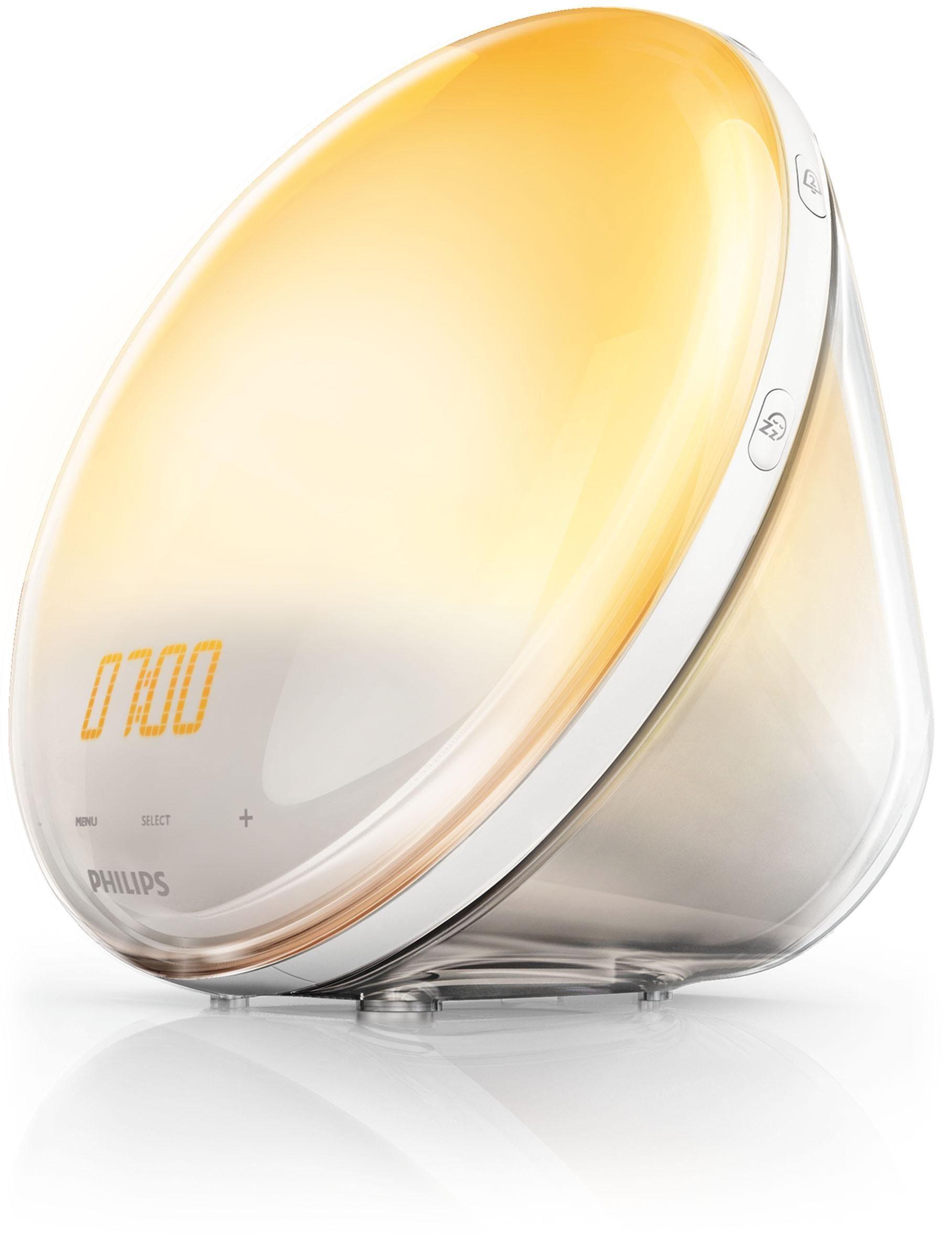 Philips Wekker Licht : Philips wake up light hf voor nog natuurlijker ontwaken