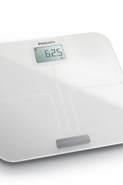 lichaamsanalyse-weegschaal DL8781/01, met app-aansluiting, wit