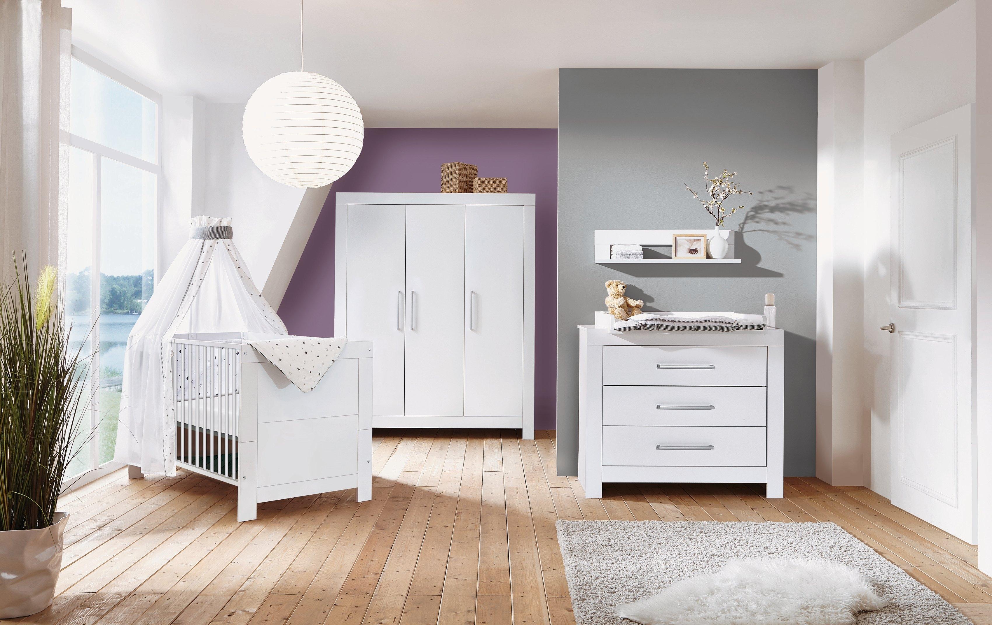 Schardt complete babykamerset Nordic White Made in Germany; met kinderbed, kast en commode (set, 3 stuks) bestellen: 30 dagen bedenktijd