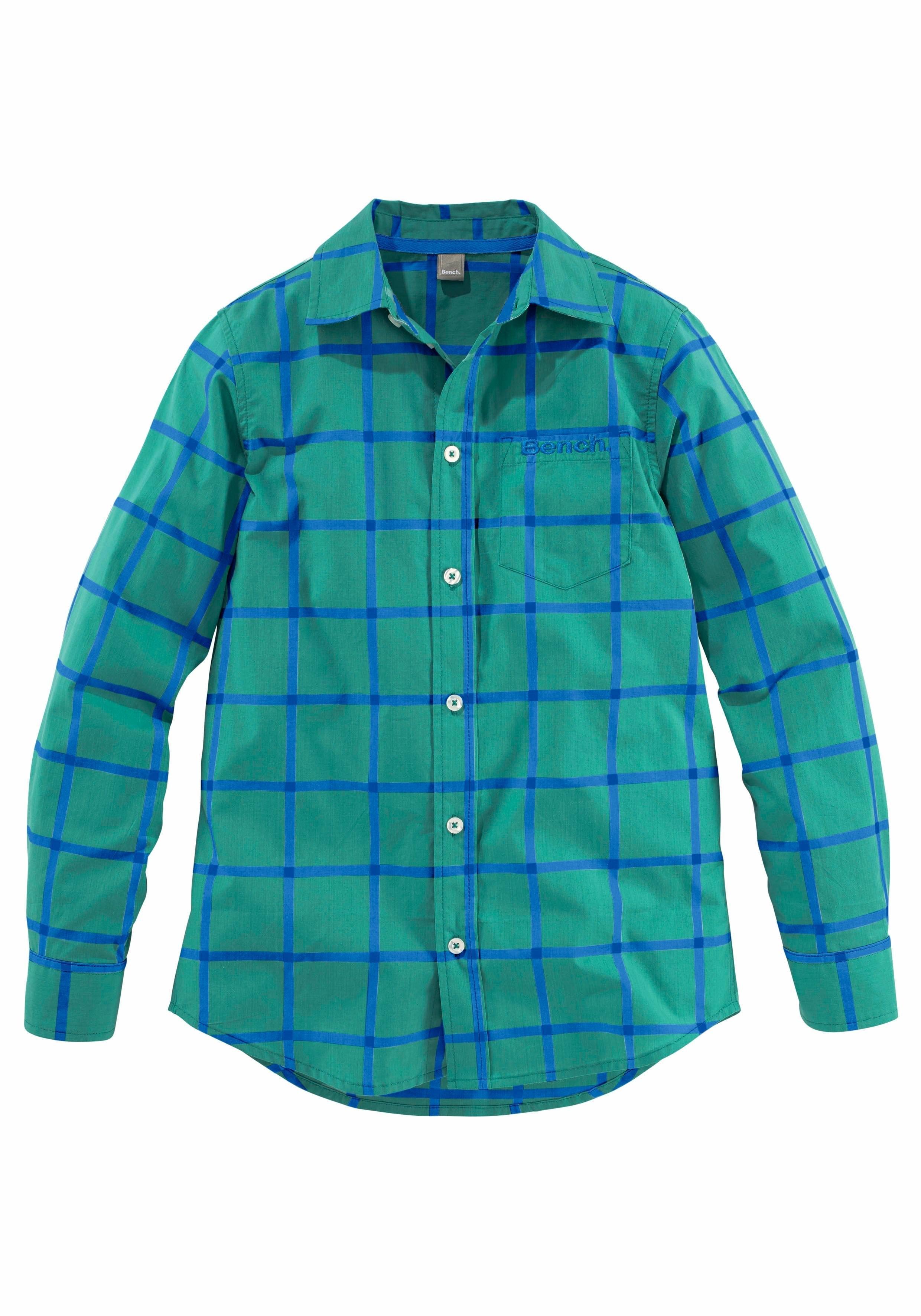 Groen Geruit Overhemd.Bench Geruit Overhemd In De Online Shop Otto