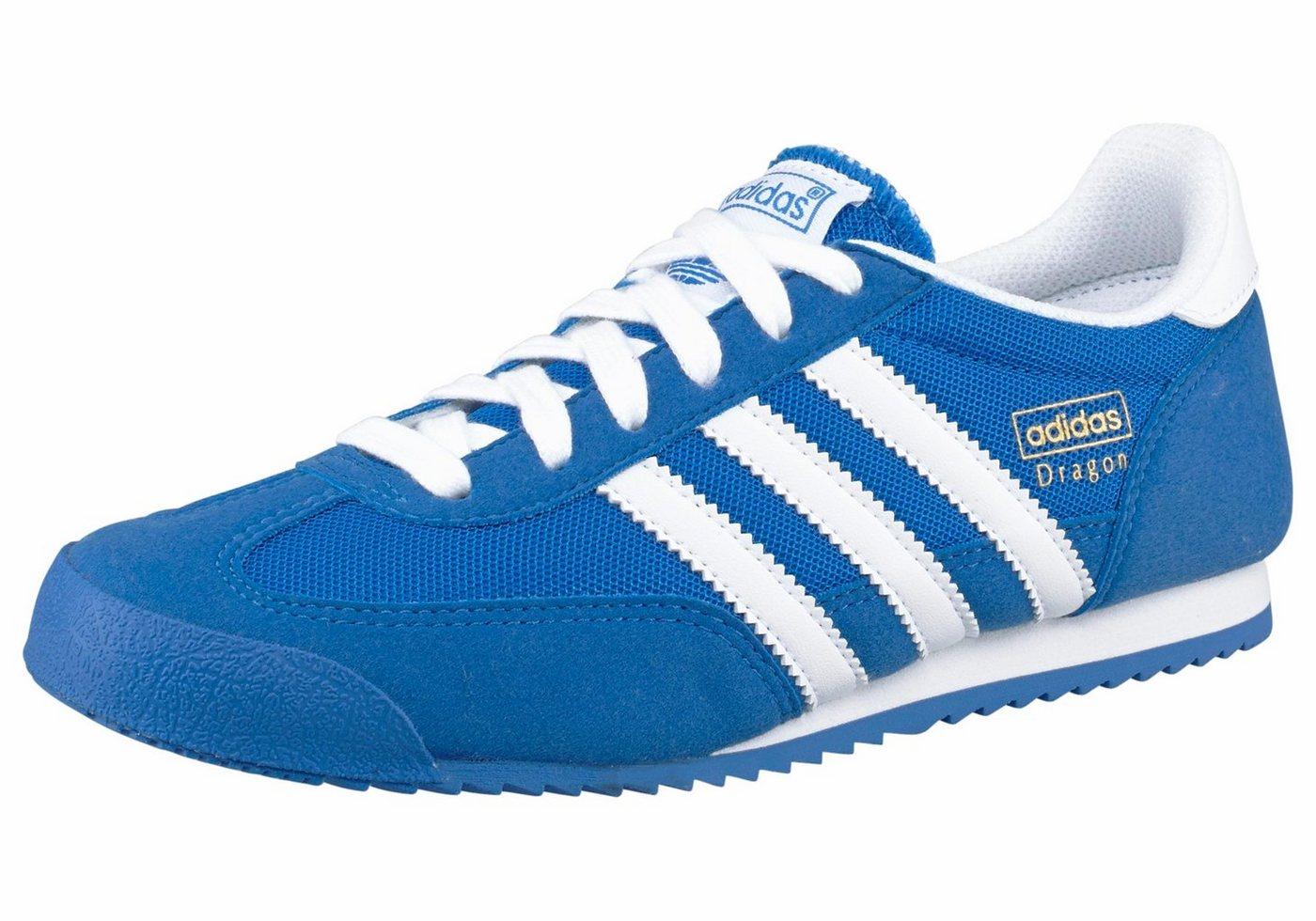 ADIDAS ORIGINALS Sneakers Dragon J blauw/wit