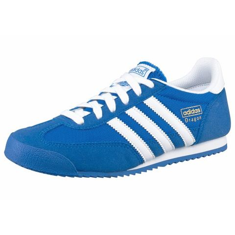 ADIDAS ORIGINALS Sneakers Dragon J blauw-wit
