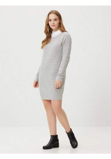 Vero Moda Lange mouw Gebreide jurk