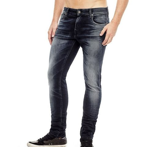 NU 15% KORTING: GUESS jeans SUPER SKINNY in used-look