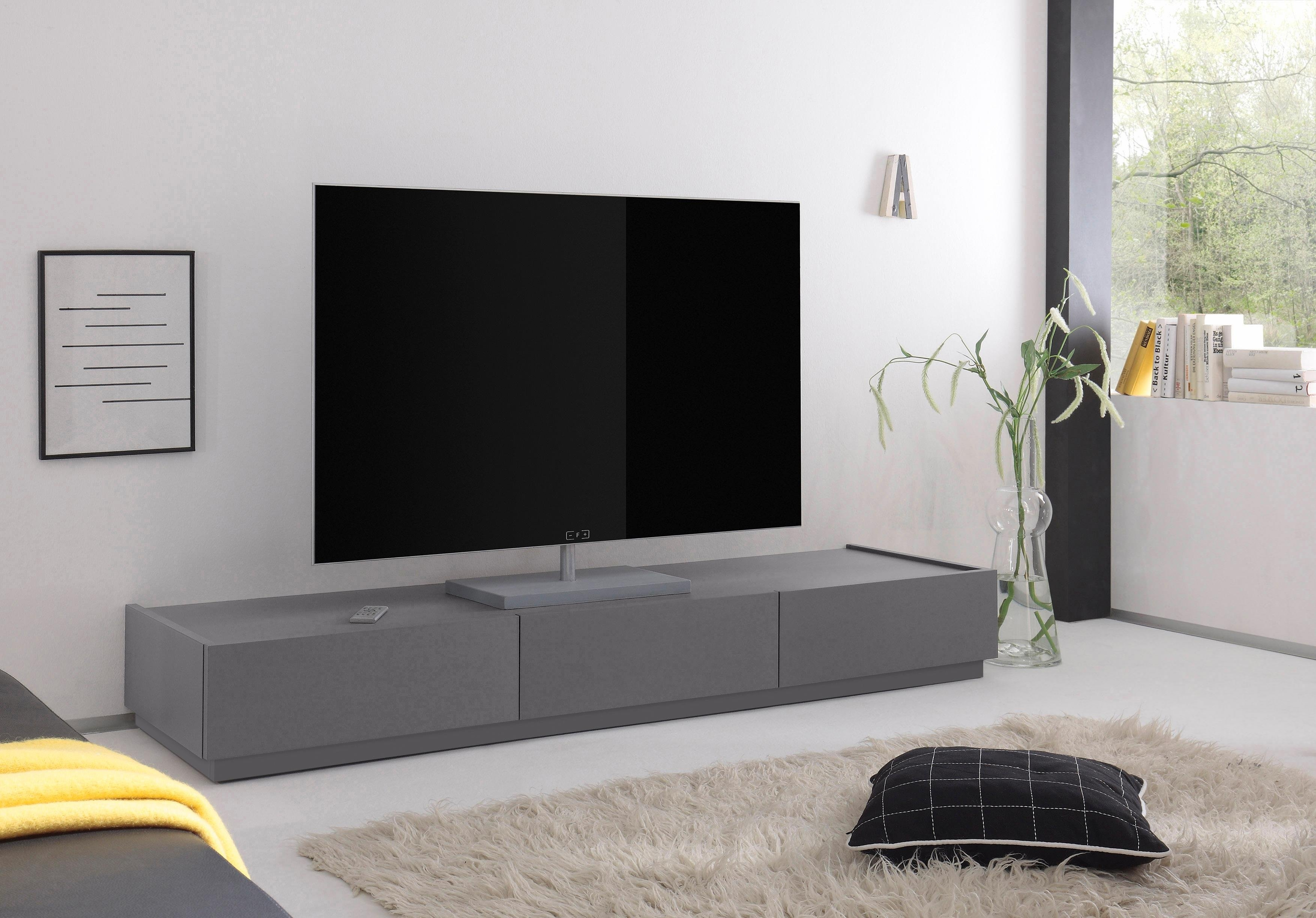 Tv Kast Bed.Tv Meubel Zela Met 3 Laden Breedte 184 Cm In De Online Winkel
