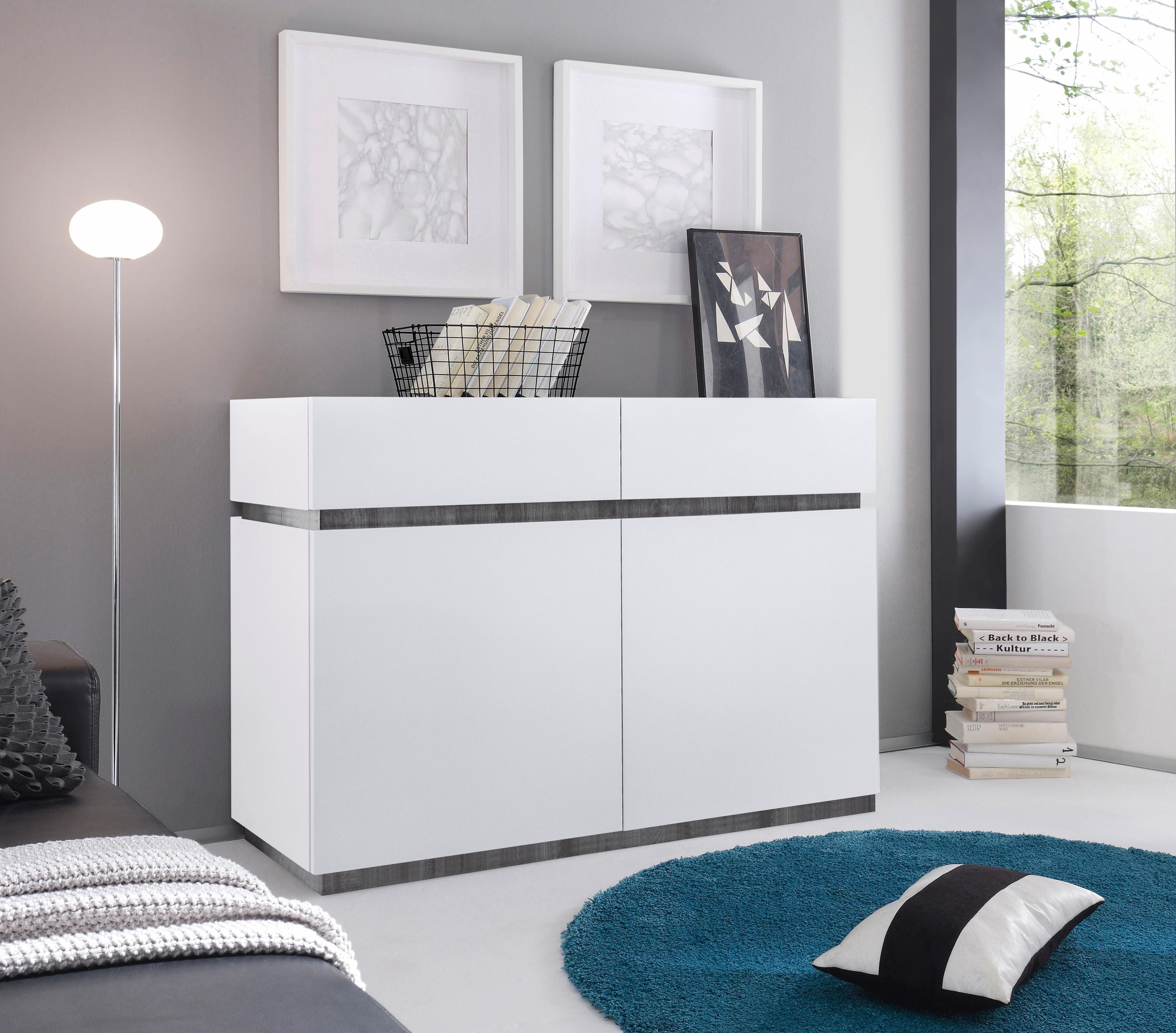 Places Of Style Dressoir »Zela«, 2-deurs, breedte 123 cm - verschillende betaalmethodes