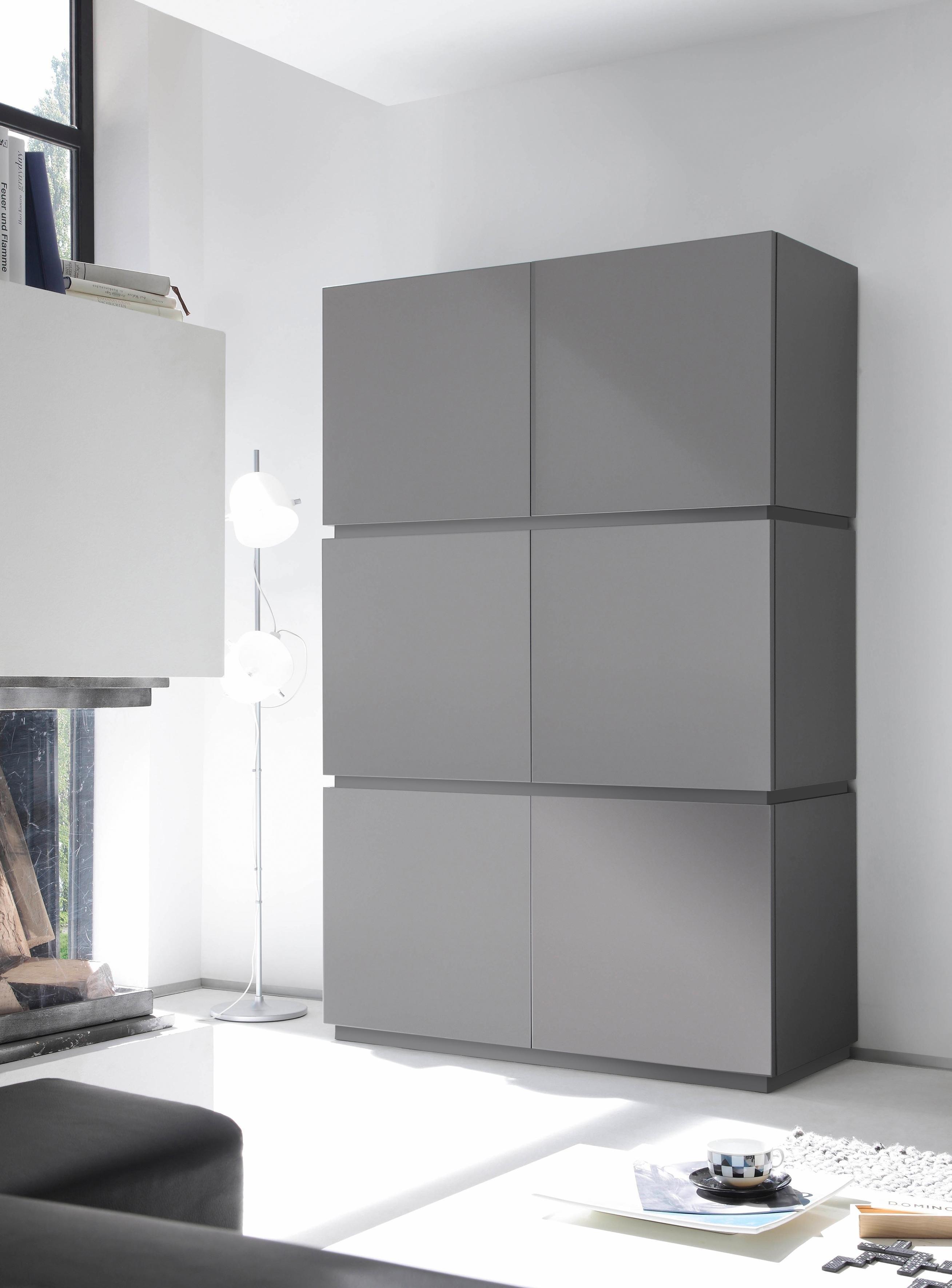 Places Of Style Highboard »Zela«, 6-deurs, breedte 123 cm bestellen: 14 dagen bedenktijd