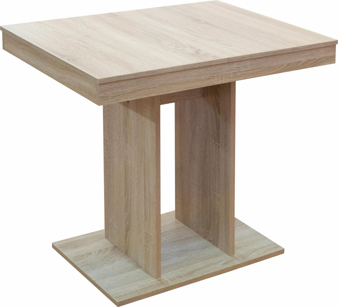 Eettafel, breedte 80-120 cm