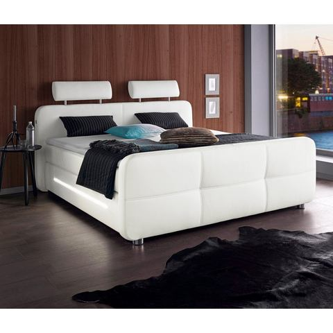 ROOMED boxspring incl. topmatras en LED-verlichting