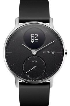 withings fitness-horloge activité steel hr (36 mm) zwart