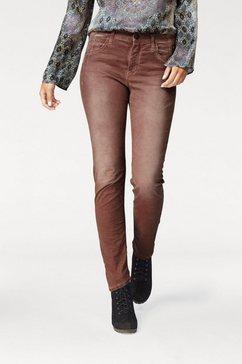 mac stretch jeans »sexy carrot« bruin