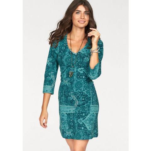 BOYSEN'S Jersey-jurk met allover-print