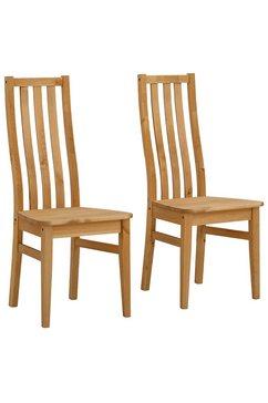 home affaire stoel (set, 2 stuks) beige