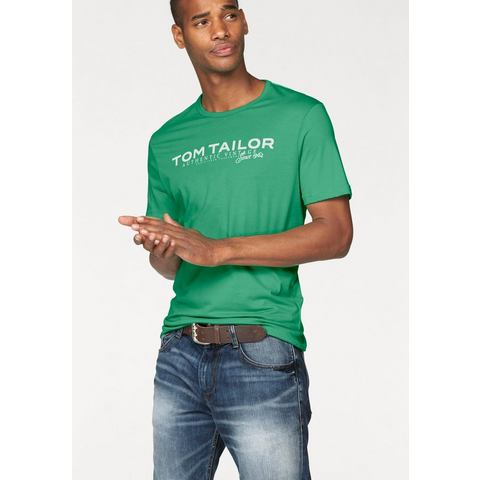 Tom Tailor NU 15% KORTING: TOM TAILOR T-shirt met logoprint