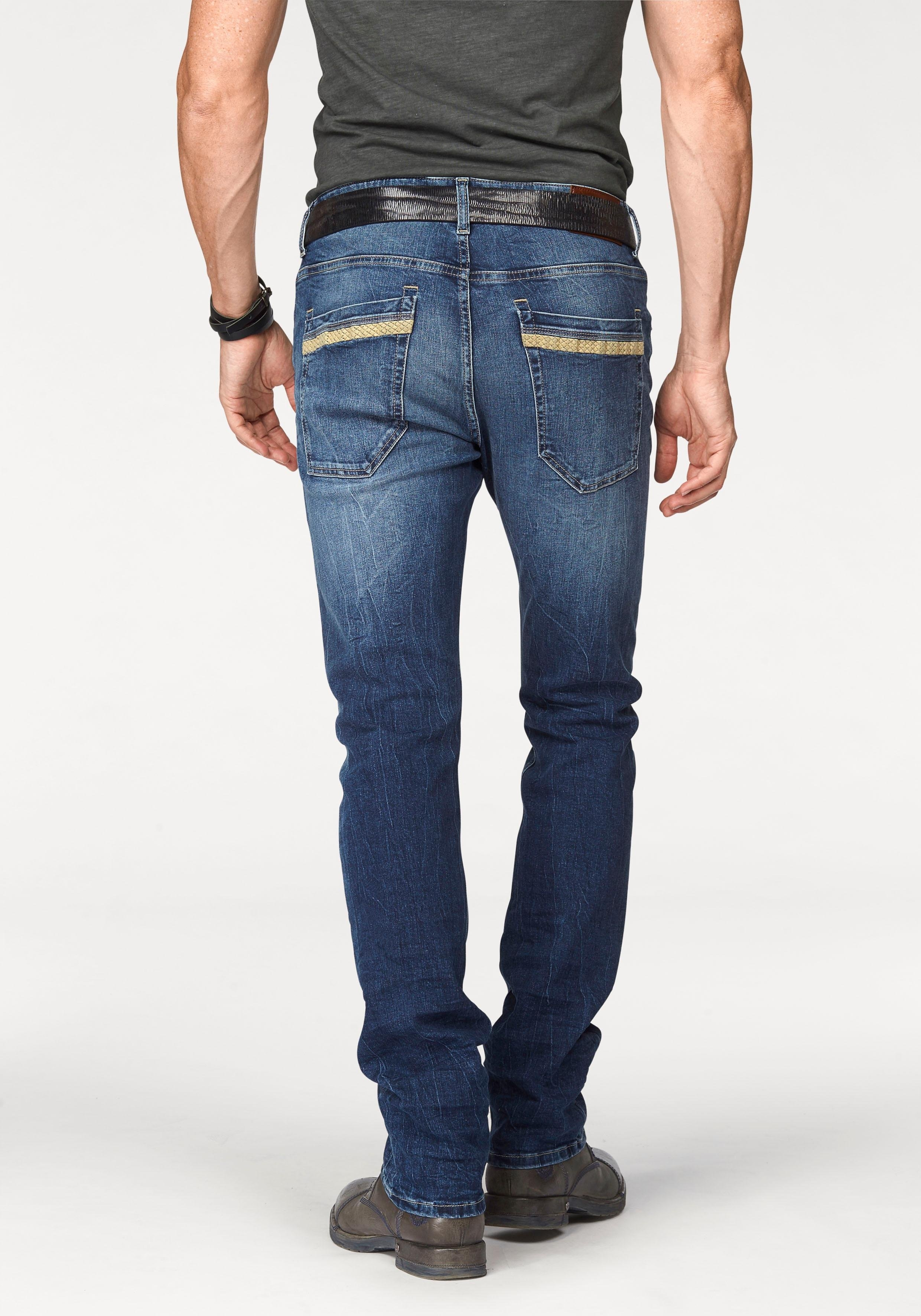 bruno banani straight-jeans »Liam (Stretch)« goedkoop op otto.nl kopen