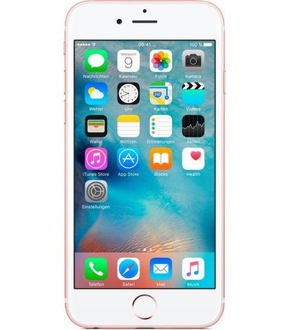 Apple iPhone 6s 128 GB, 12 cm (4,7 inch) Display, LTE (4G), iOS 9, 11,9 Megapixel