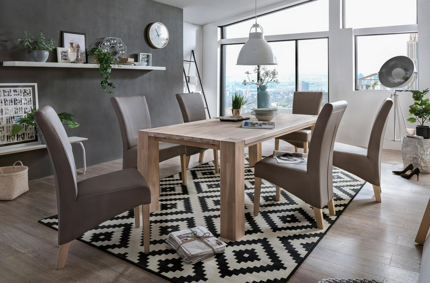 HOME AFFAIRE Eettafel Big Bristol
