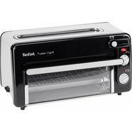 tefal mini-oven toast-grill en mini-oven tl6008 geen voorverwarming nodig zwart